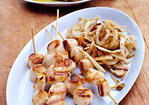 Grilled Sea Scallops and Fennel Recipe
