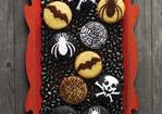 Stenciled Vanilla Cupcakes Recipe