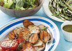 Herbed Salad with Ginger Vinaigrette Recipe Recipe
