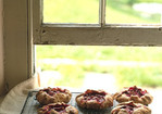 Individual Rhubarb and Raspberry Tartlets Recipe