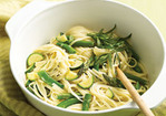 Linguine with Spring Vegetables Recipe