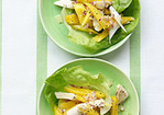 Mango and Hearts of Palm Salad with Lime Vinaigrette Recipe
