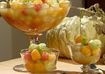 Melon Balls and Margarita Syrup Recipe