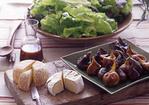 Organic Lettuces with Fig Vinaigrette Recipe