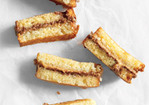 Peanut-Butter-and-Milk-Chocolate Sandwiches Recipe