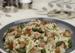 Asparagus and Sausage Risotto Recipe