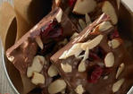 Ghirardelli® Chocolate-Almond Berry Bark Recipe