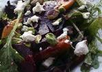 Roasted Beet, Peach and Goat Cheese Salad Recipe