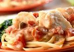 Seafood Tomato Alfredo Recipe