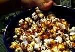 Spicy Sweet Stovetop Popcorn Recipe