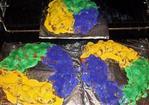Super Easy Mardi Gras King Cake Recipe