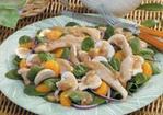 Warm Chicken Spinach Salad Recipe