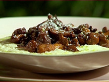 Chanterelles and Shiitakes with Creamy Stone Ground Grits Recipe