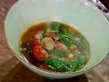 EJ's Simple Italian Meatball Soup Recipe