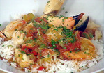 Lobster, Shrimp and Stone Crab Creole Recipe