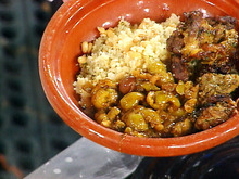 Moroccan Lamb Tagine Smothered with Olives Recipe