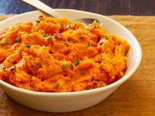 Chipotle Smashed Sweet Potatoes Recipe