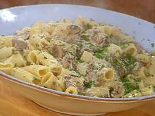 Rigatoni with Beefy Mushroom Gorgonzola Sauce Recipe