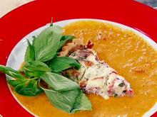 Roasted Garlic and Tomato Parmesan Tart Recipe