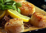 Seared Scallops with Morel Cream Sauce Recipe