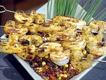 Spicy Barbecued Shrimp Skewers Recipe