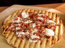 Grilled Pizza -Three Ways Recipe