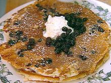 Huckleberry Pancakes Recipe