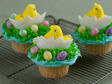 Chick and Egg Cupcake Recipe