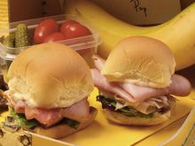 Ham Club Sandwich Sliders Recipe