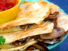 Mushroom Quesadillas Recipe