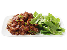 Sesame Chicken With Snow Peas Recipe