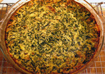 Spinach and Smoked Gouda Crustless Quiche Recipe