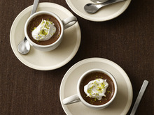 Turkish Coffee Pots de Creme Recipe