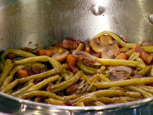 Bacon Braised String Beans Recipe