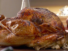 Brined Herb-Crusted Turkey with Apple Cider Gravy Recipe