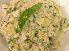 George's Artichoke Tuna Salad Recipe