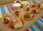 Stuffed Pigs in the Blanket Recipe