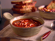 Calamari Stew with Garlic Toast Recipe