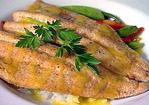 Rainbow Trout with Jasmine Rice and Citrus Vinaigrette Recipe