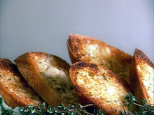 Crusty Garlic and Herb Bread Recipe