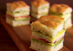 Mini Italian Club Sandwiches Recipe