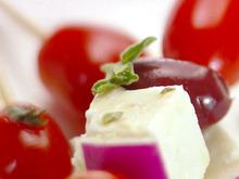 Skewered Greek Salad Recipe