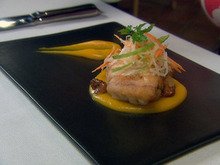 Braised Rock Fish, Butternut Puree, Ricotta Gnocchi Recipe