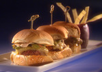 Great American Southwest Sliders with Prickly Pear and Grilled Avocado Salsa Recipe