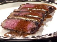 Java Crusted New York Steak with Stout Glaze Recipe