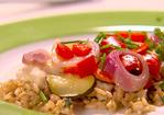 Flounder and Vegetable Parcels Recipe