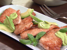 Sauteed Turkey Cutlets with Avocado Sauce Recipe