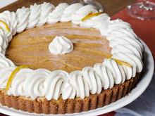 Pumpkin Banana Mousse Tart Recipe
