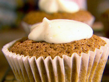 Butternut Squash Muffins with a Frosty Top Recipe