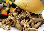 North Carolina-Style BBQ Pulled-Pork Sandwiches Recipe